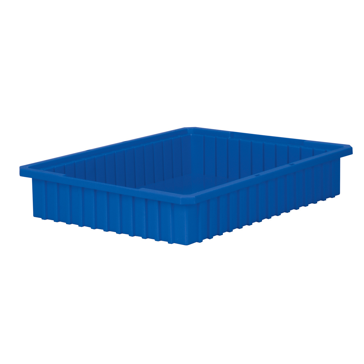 Akro-Grid Dividable Box 22-3/8 x 17-3/8 x 4, Blue (33224BLUE).  This item sold in carton quantities of 6.