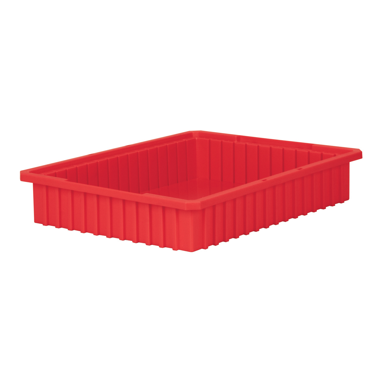 Akro-Grid Dividable Box 22-3/8 x 17-3/8 x 4, Red (33224RED).  This item sold in carton quantities of 6.