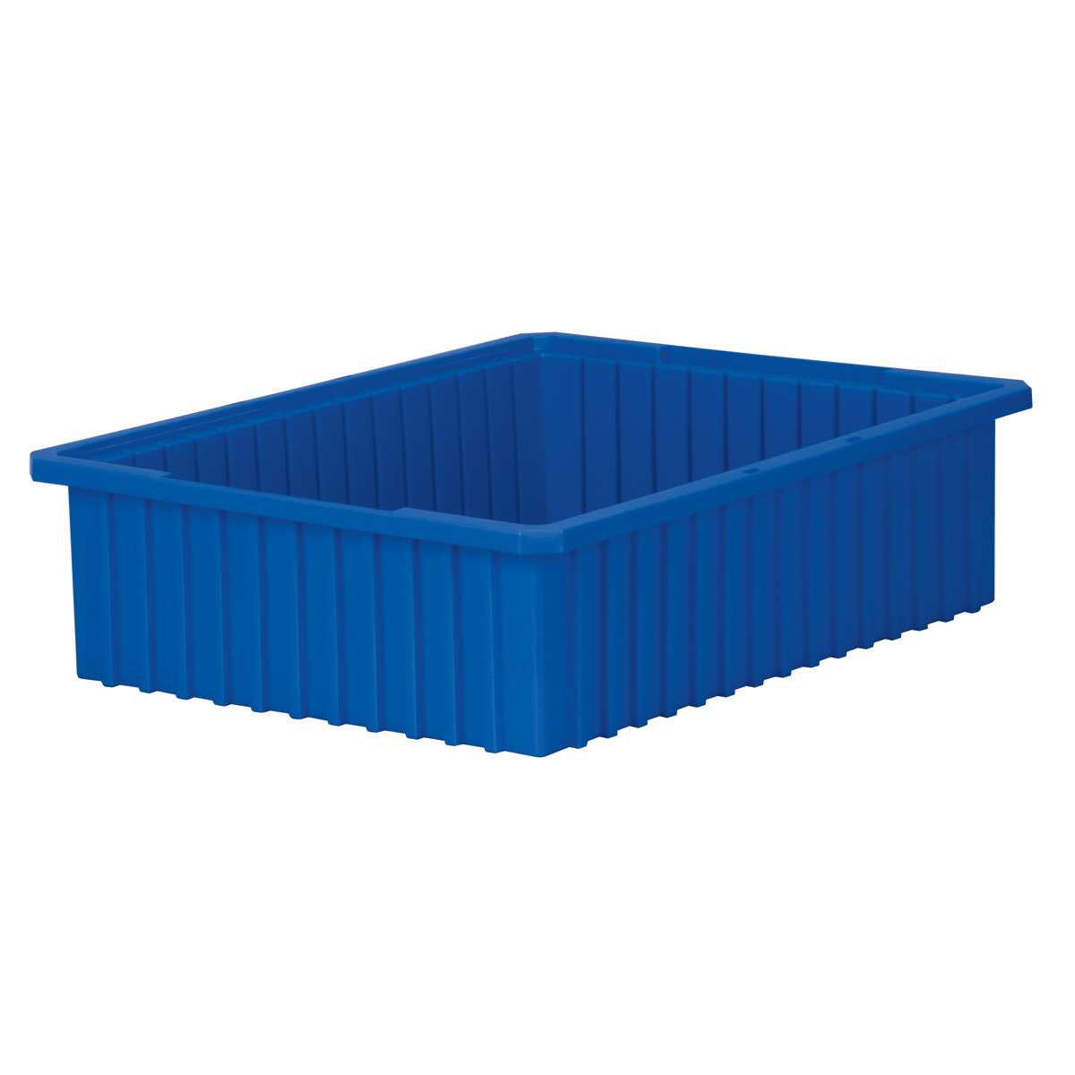 Akro-Grid Dividable Box 22-3/8 x 17-3/8 x 6, Blue (33226BLUE).  This item sold in carton quantities of 4.
