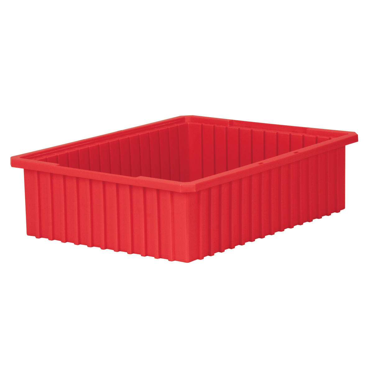 Akro-Grid Dividable Box 22-3/8 x 17-3/8 x 6, Red (33226RED).  This item sold in carton quantities of 4.