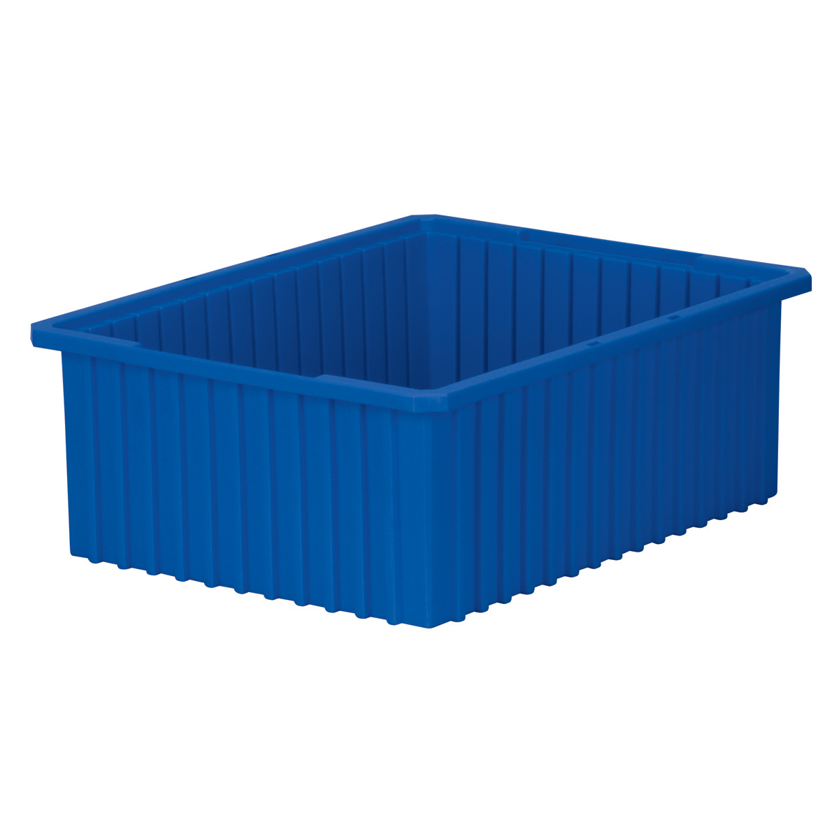 Akro-Grid Dividable Box 22-3/8 x 17-3/8 x 8, Blue (33228BLUE).  This item sold in carton quantities of 3.