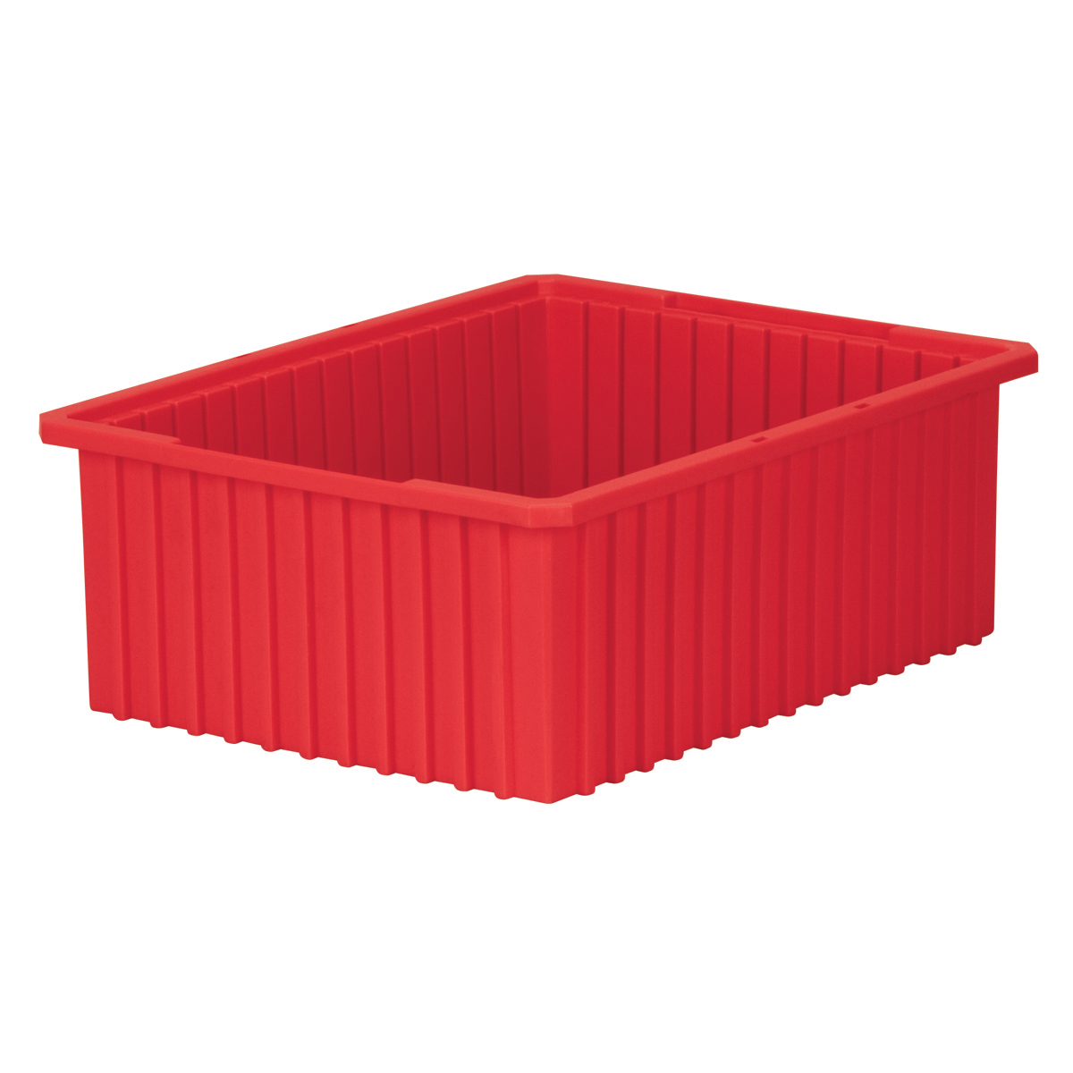 Akro-Grid Dividable Box 22-3/8 x 17-3/8 x 8, Red (33228RED).  This item sold in carton quantities of 3.