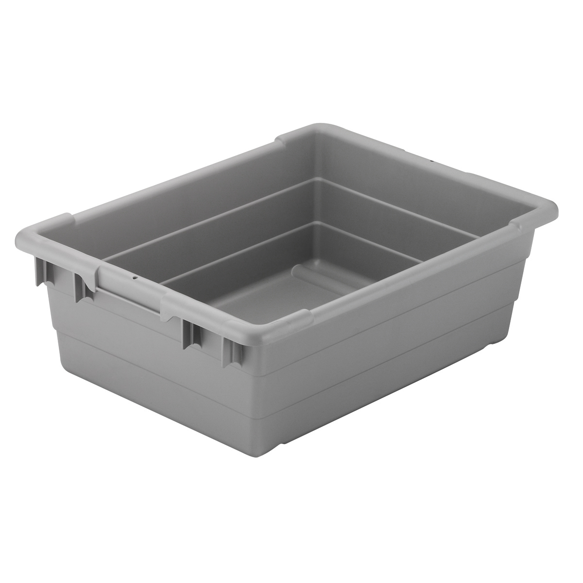 Cross-Stack Akro-Tub 23 x 17 x 8, Gray (34303).  This item sold in carton quantities of 6.