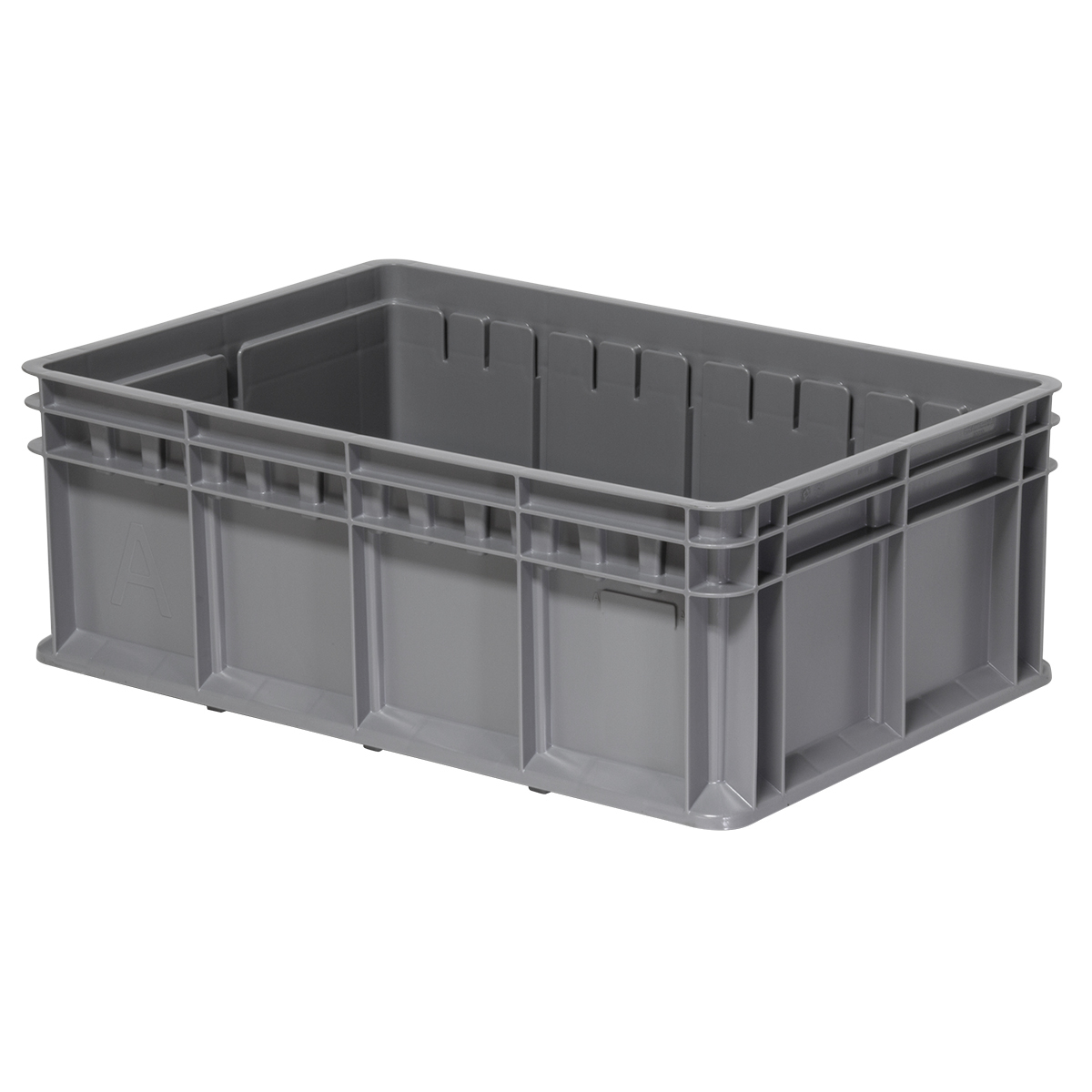 Multi-Load Tote, 23-5/8 x 15-3/4 x 8-21/32, Gray (38358GRY).  This item sold in carton quantities of 4.