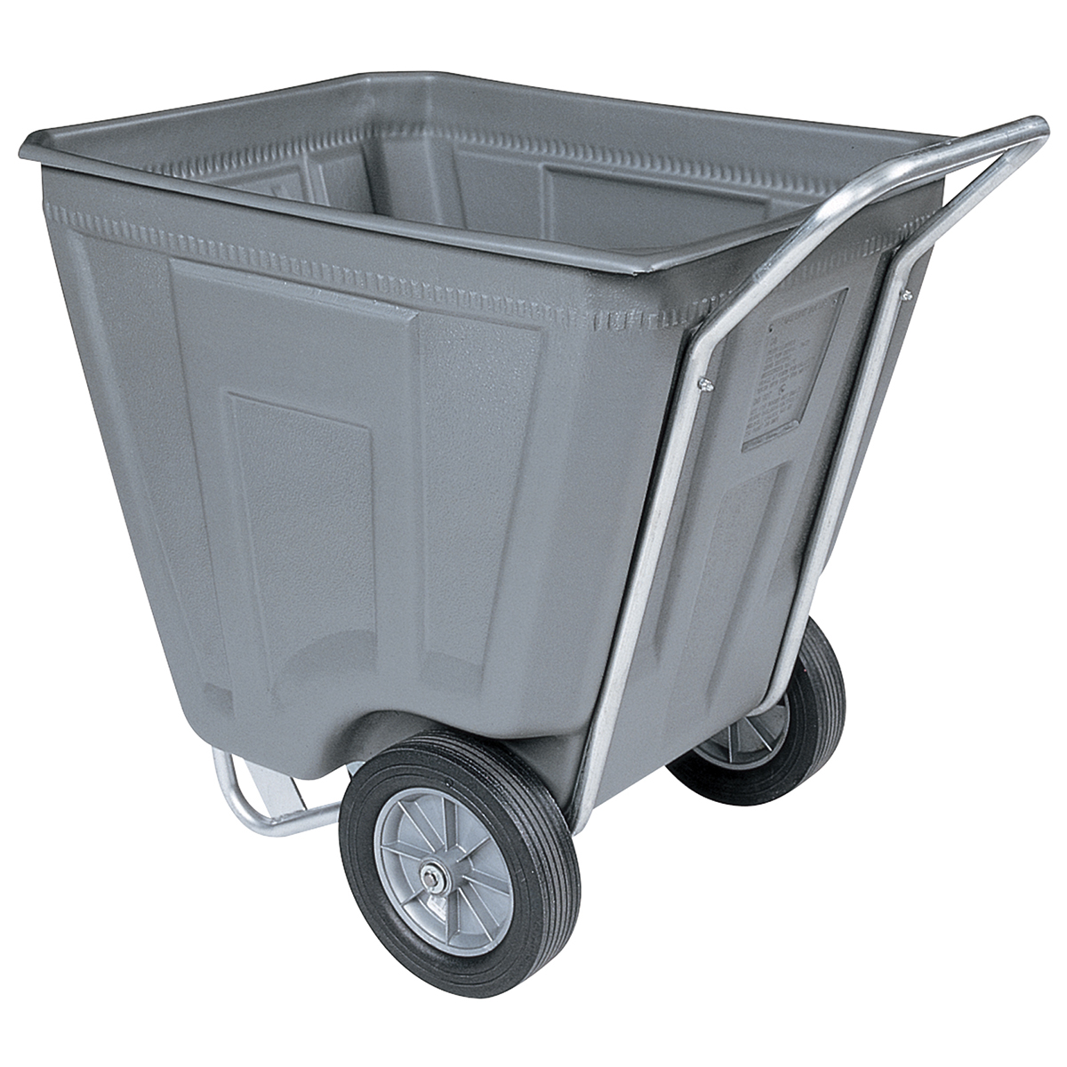 Akro-Cart 60 Gal, 30-1/2 x 48 x 33-1/2, Gray (76460GREY).  This item sold in carton quantities of 1.