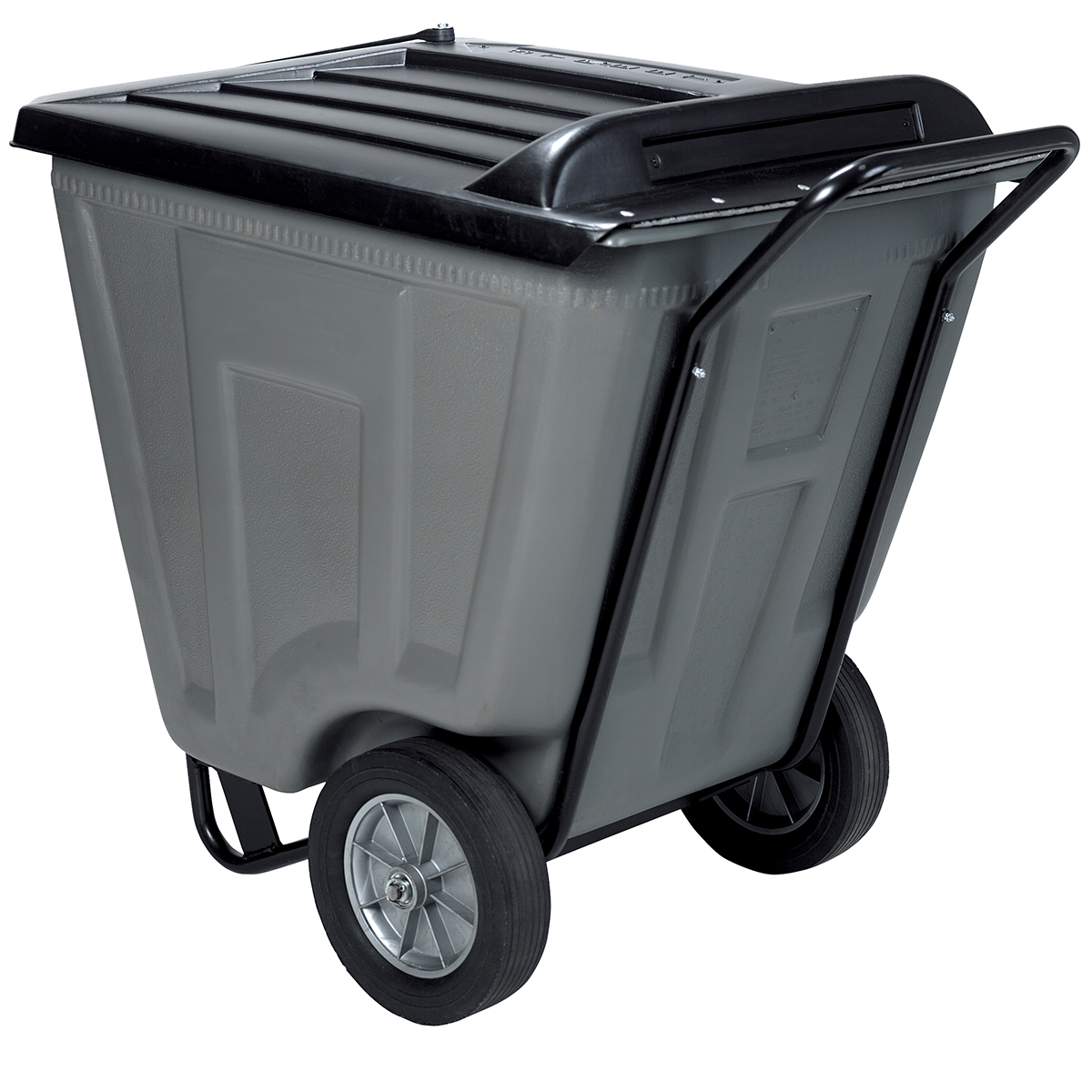 Akro-Cart w/ Lid 60 Gal, 30-1/2 x 48 x 33-1/2, Gray (76461GREY).  This item sold in carton quantities of 1.