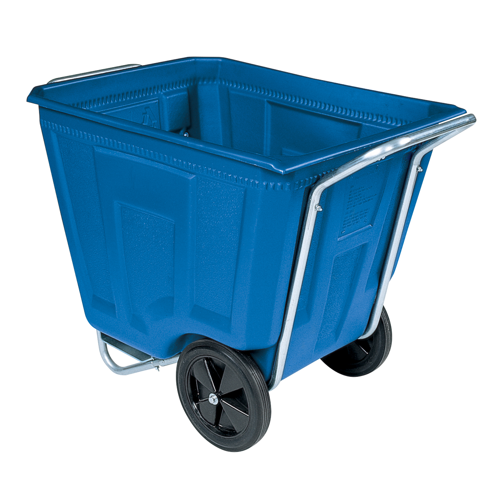 Akro-Cart 90 Gal, 30-1/2 x 47 x 39-1/2, Blue (76490BLUE).  This item sold in carton quantities of 1.