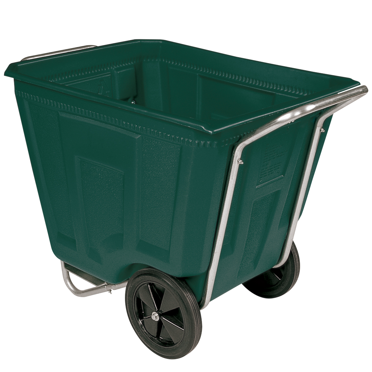 Akro-Cart 90 Gal, 30-1/2 x 47 x 39-1/2, Green (76490GREEN).  This item sold in carton quantities of 1.