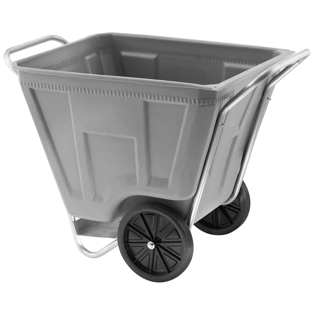 Akro-Cart 90 Gal, 30-1/2 x 47 x 39-1/2, Gray (76490GREY).  This item sold in carton quantities of 1.