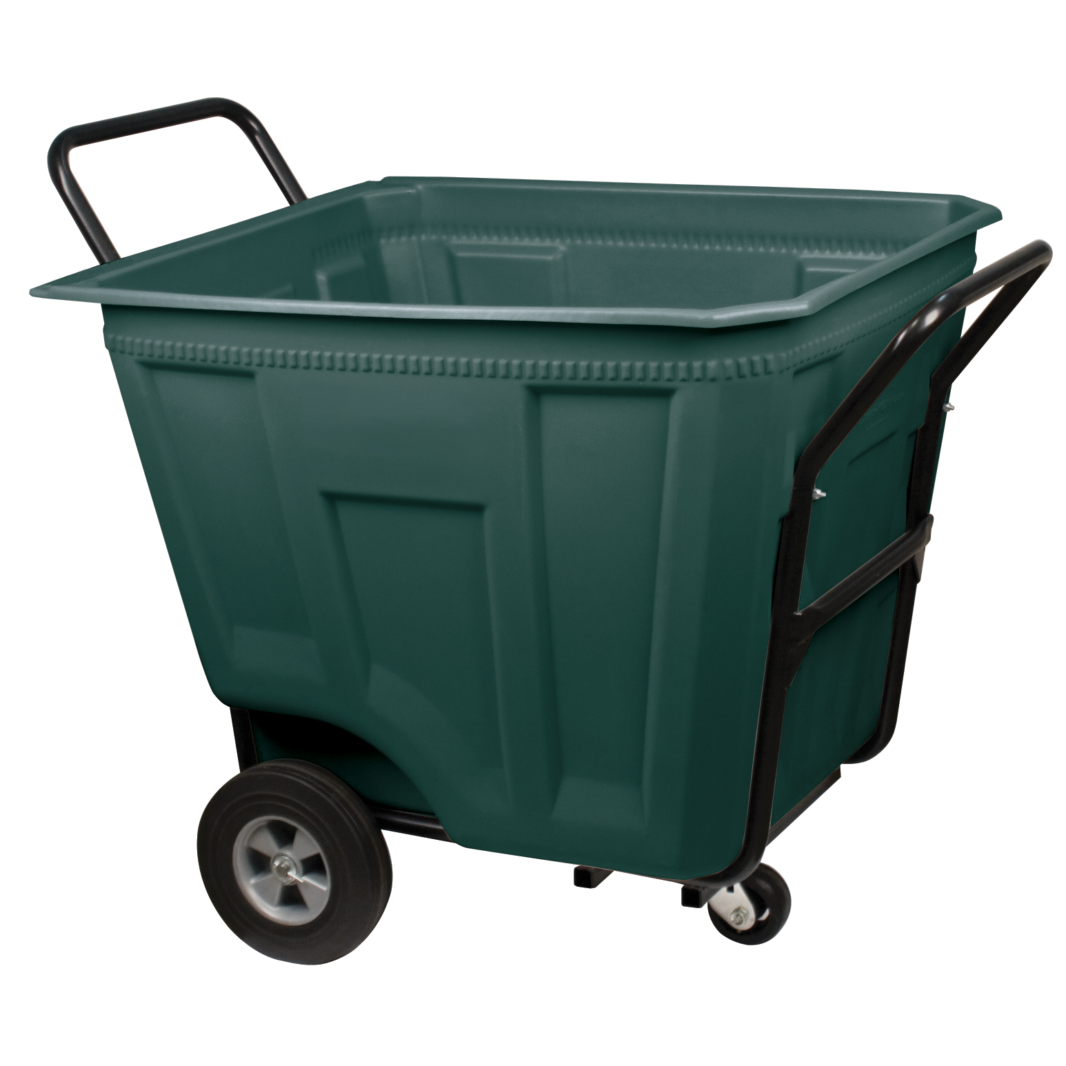 Akro-Cart Heavy-Duty 90 Gal, 30-1/2 x 47 x 39-1/2, Green (76590GREEN).  This item sold in carton quantities of 1.