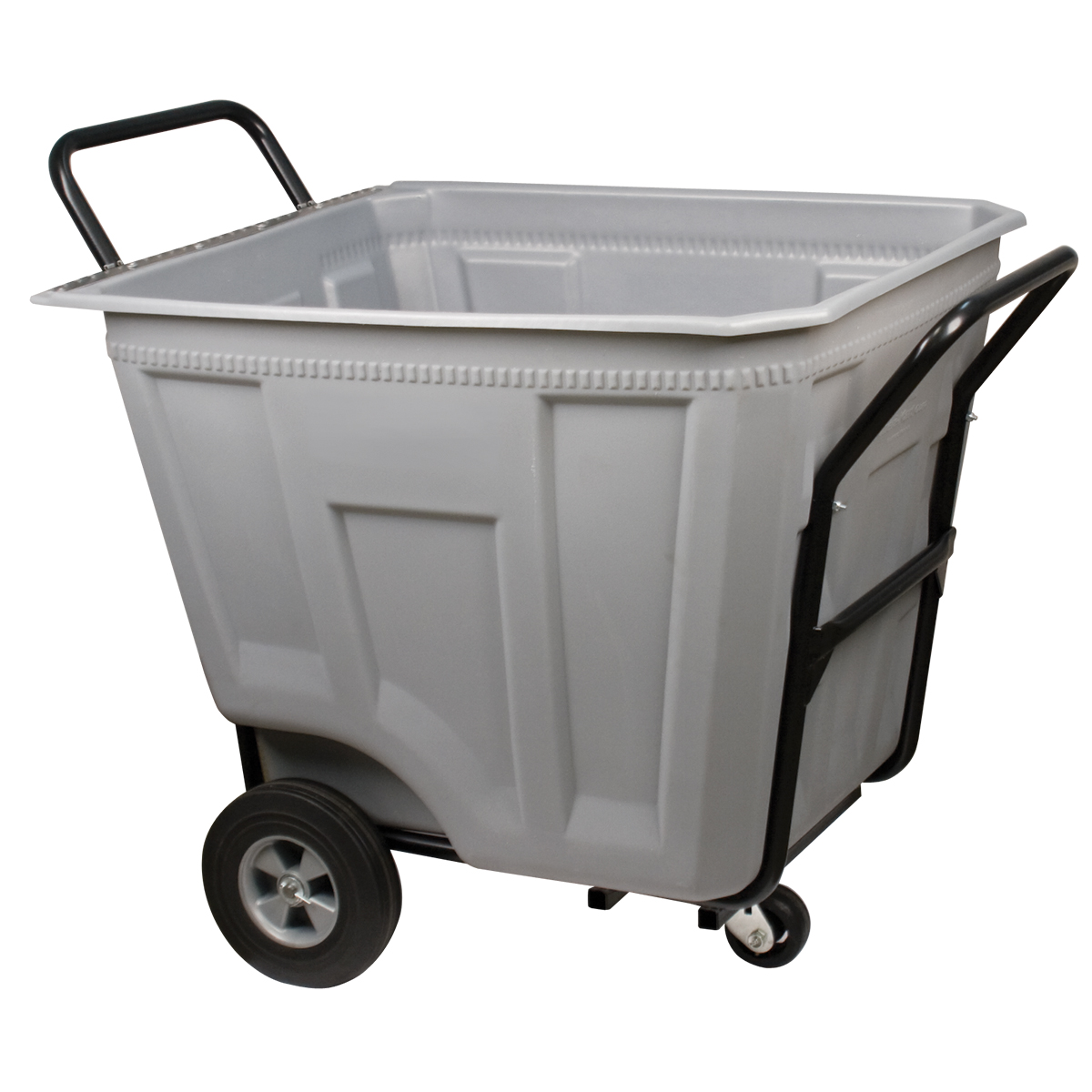 Akro-Cart Heavy-Duty 90 Gal, 30-1/2 x 47 x 39-1/2, Gray (76590GREY).  This item sold in carton quantities of 1.