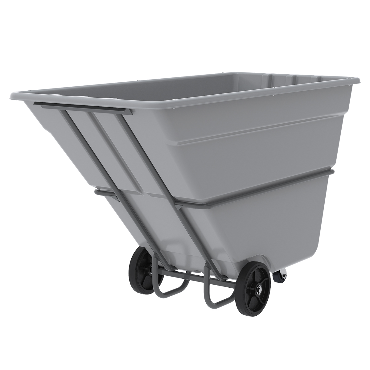 AKRO-TILT TRUCK, HEAVY DUTY, 300GAL - 1-1/2 YD.  This item sold in carton quantities of 1.