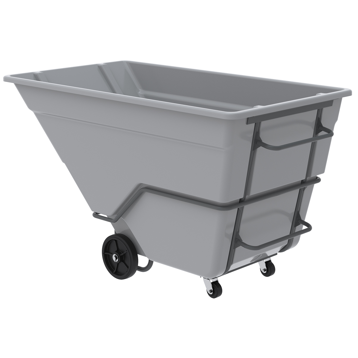 AKRO-TILT TRUCK, HEAVY DUTY, 400GAL - 2 YD.  This item sold in carton quantities of 1.