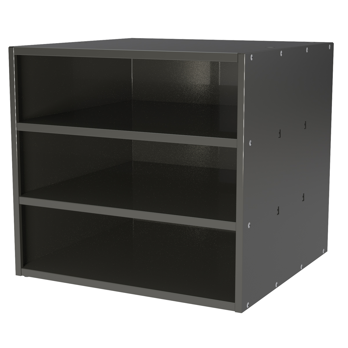 Item DISCONTINUED by Manufacturer.  Modular Cabinet, 18x17x16, no Drawers, Gray (AD1817C).  This item sold in carton quantities of 1.