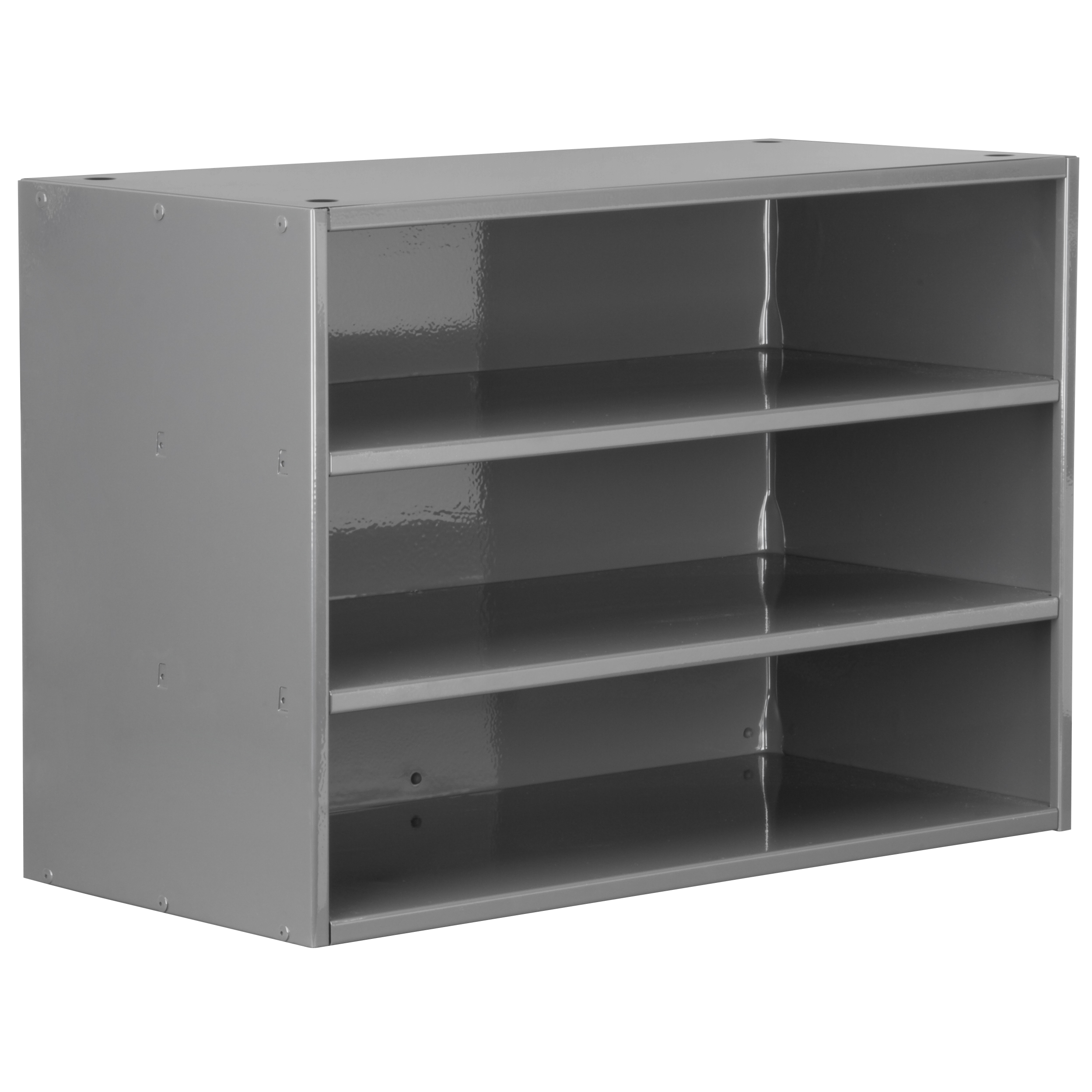 Item DISCONTINUED by Manufacturer.  Modular Cabinet, 23x11x16, no Drawers, Gray (AD2311C).  This item sold in carton quantities of 1.