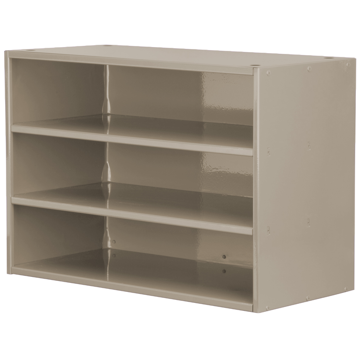 Item DISCONTINUED by Manufacturer.  Modular Cabinet, 23x11x16, no Drawers, Putty (AD2311P).  This item sold in carton quantities of 1.