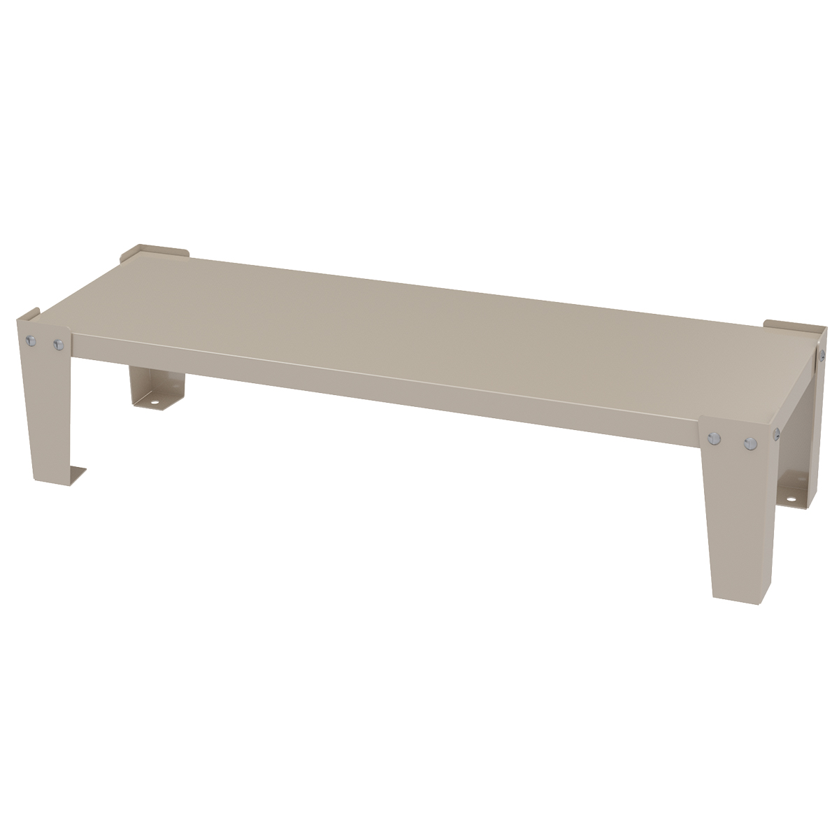 Item DISCONTINUED by Manufacturer.  Base Stand for Cabinet, 35x11x8, Putty.  This item sold in carton quantities of 1.