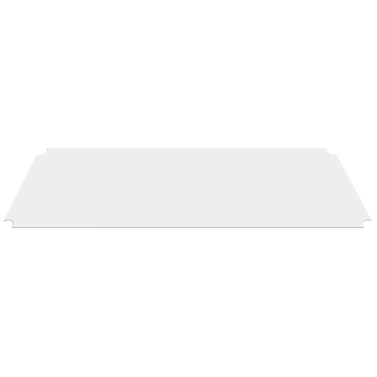 Item DISCONTINUED by Manufacturer.  12 x 48 Shelf Liner, Clear (AW1248LINER).  This item sold in carton quantities of 4.