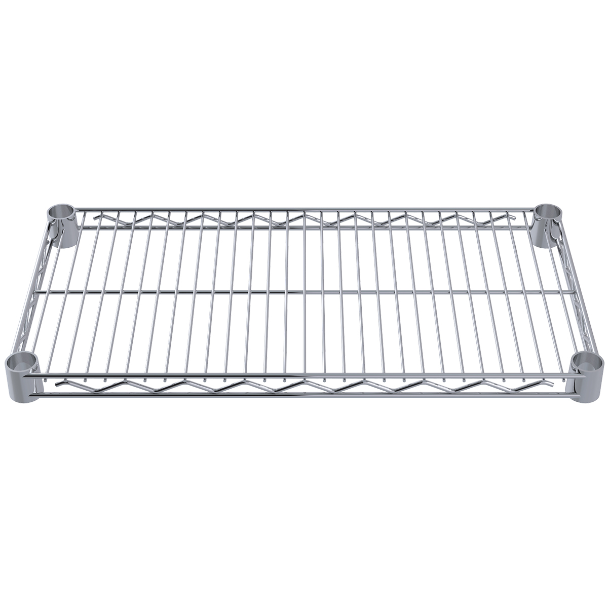 12 x 24 Wire Shelf, Chrome (AWS1224SHELF).  This item sold in carton quantities of 4.