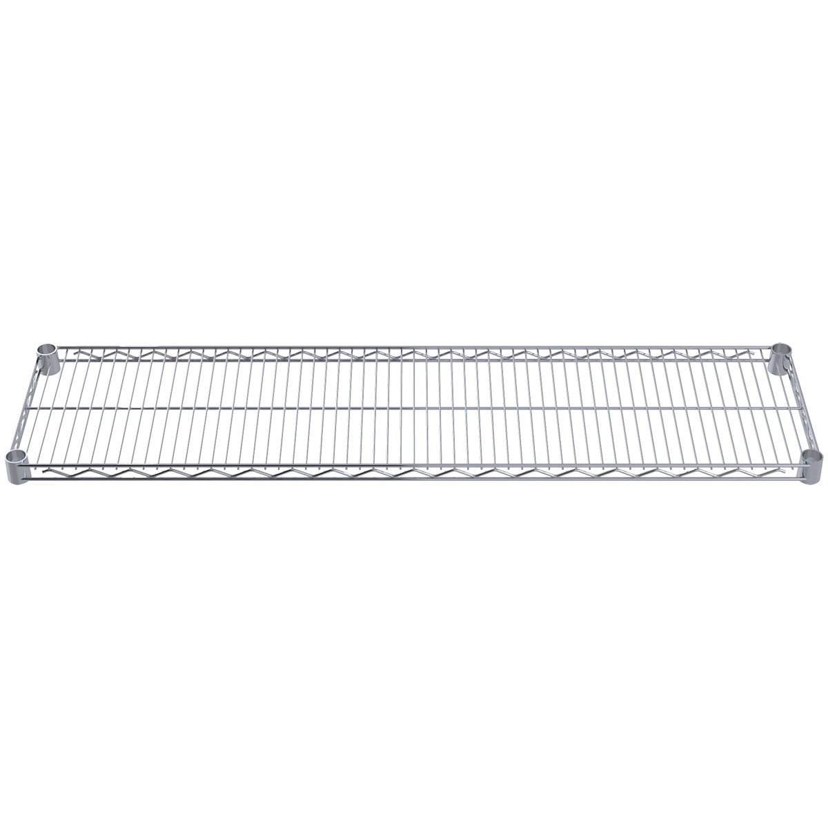 Item DISCONTINUED by Manufacturer.  12 x 48 Wire Shelf, Chrome (AWS1248SHELF).  This item sold in carton quantities of 4.