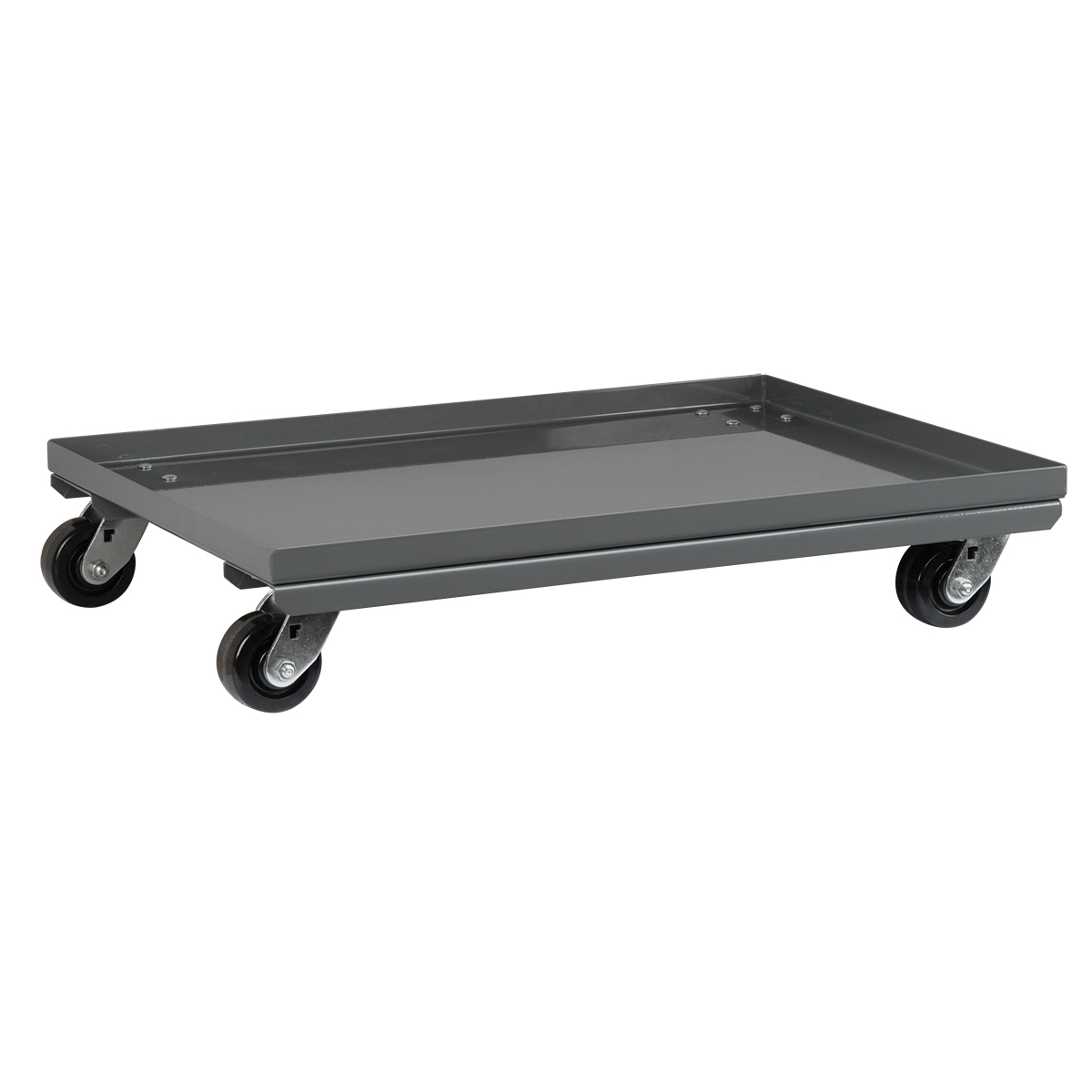 Mobile Kit for Rivet Floor Rack, 2-Sided, Gray (LVDMOBILE).  This item sold in carton quantities of 1.