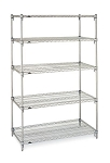 Wire Shelving Units Pre-Configured