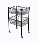 Standard Basket Cart  Metro Basket Cart 18