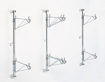 Super Erecta Post Mount Wall Shelving Kits