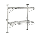 Post Mount Wall Shelving Components