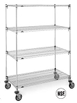 Super Ajustable 4 & 5 Tier Carts