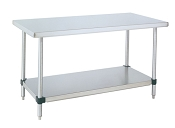 HD Stainless Work Tables Stationary