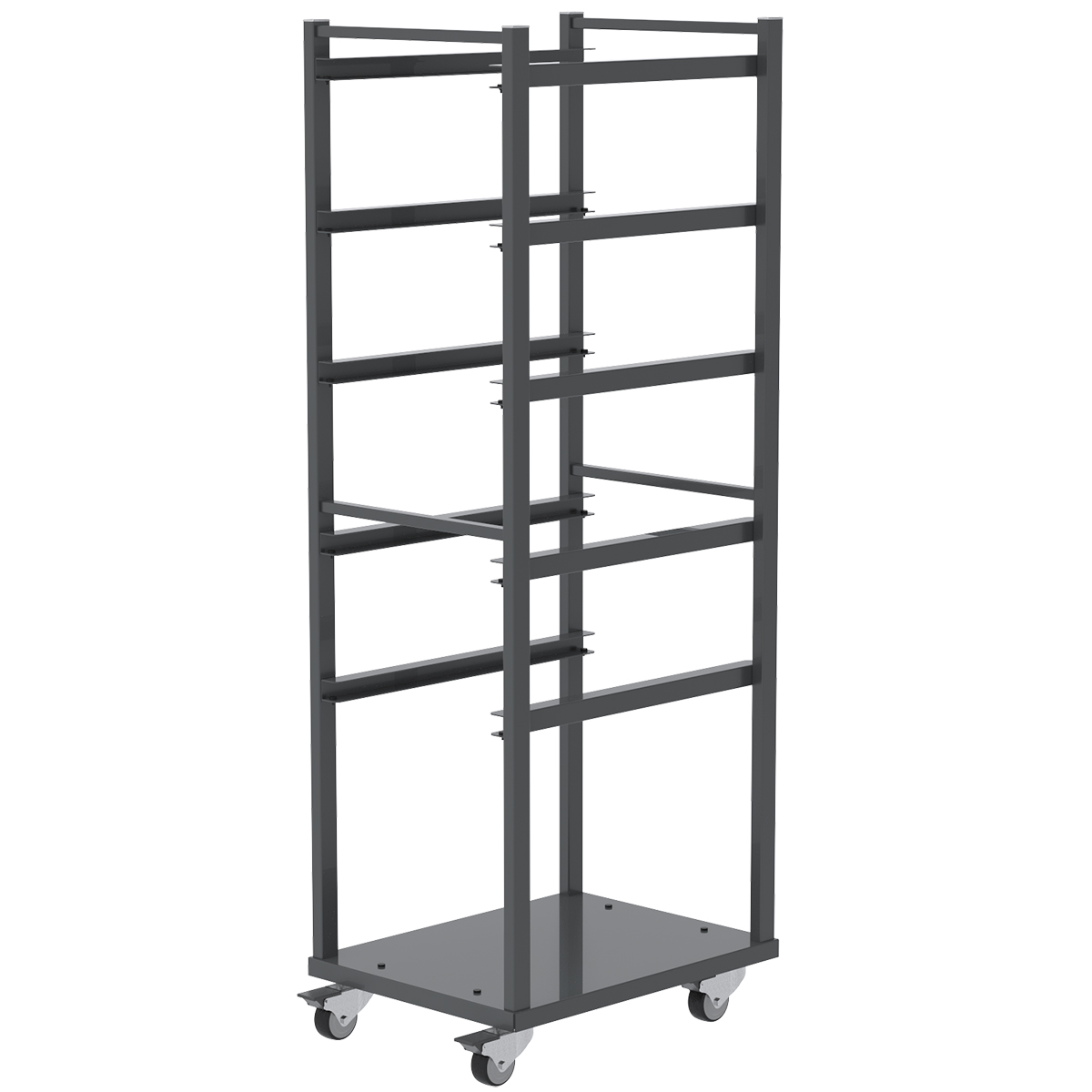 Item DISCONTINUED by Manufacturer.  6 Shelf Rack For Jumbo Lug Tub, 3