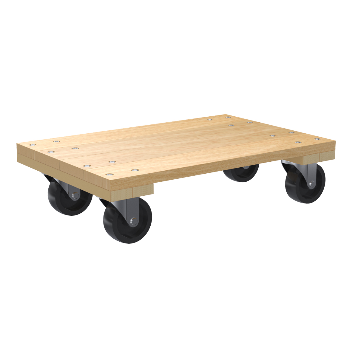 Solid Wood Dolly, 24x16, 3
