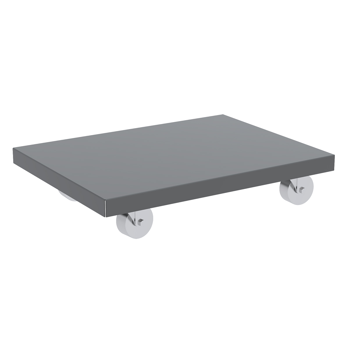 Item DISCONTINUED by Manufacturer.  Steel Dolly, 18x30, Lips Down, 3
