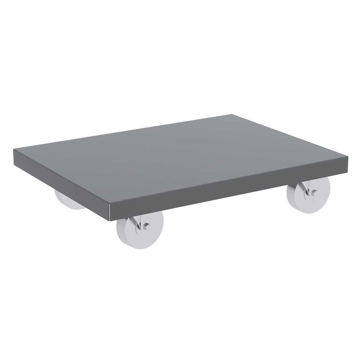 Item DISCONTINUED by Manufacturer.  Steel Dolly, 18x30, Lips Down, 4