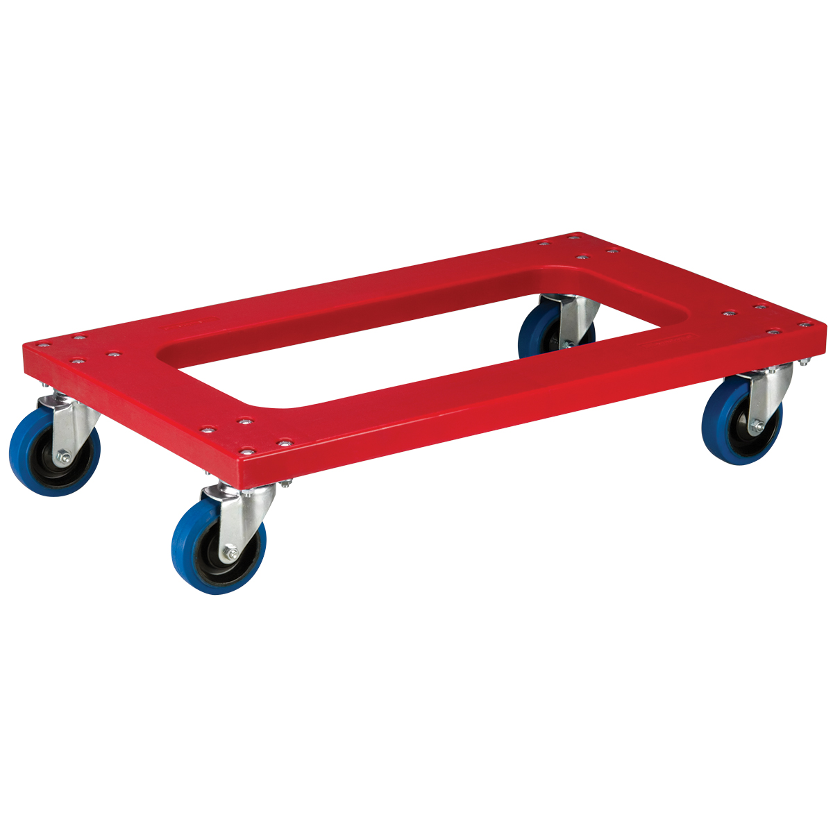 Item DISCONTINUED by Manufacturer.  Plastic Dolly, Flush w/ 4