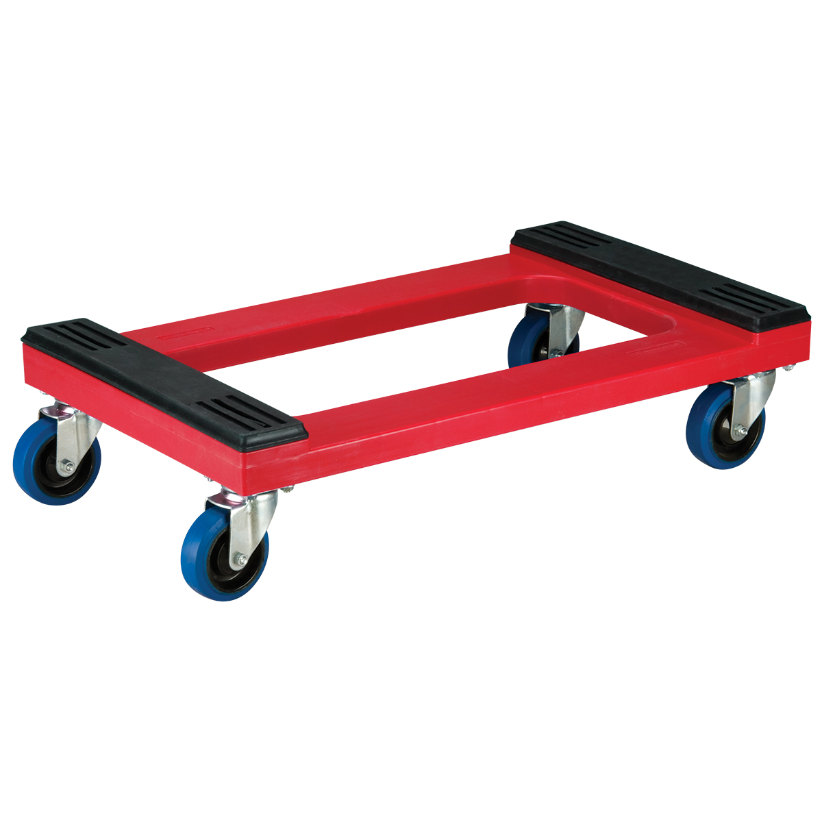 Item DISCONTINUED by Manufacturer.  Plastic Dolly, Padded w/ 4