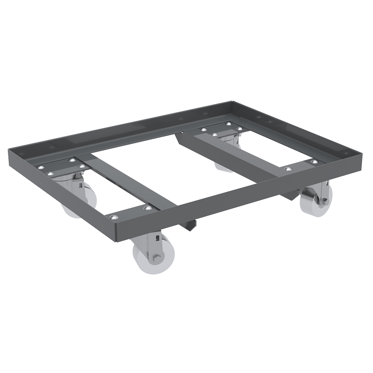 Item DISCONTINUED by Manufacturer.  Steel Dolly, 16x27, N/A3