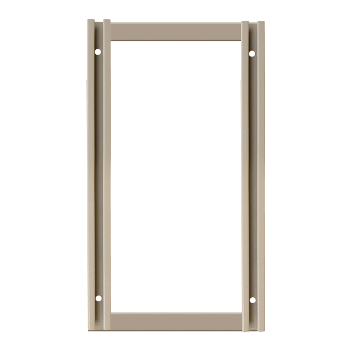 TiltView Frame, 24 x 13-1/4, Beige (TV24F).  This item sold in carton quantities of 1.