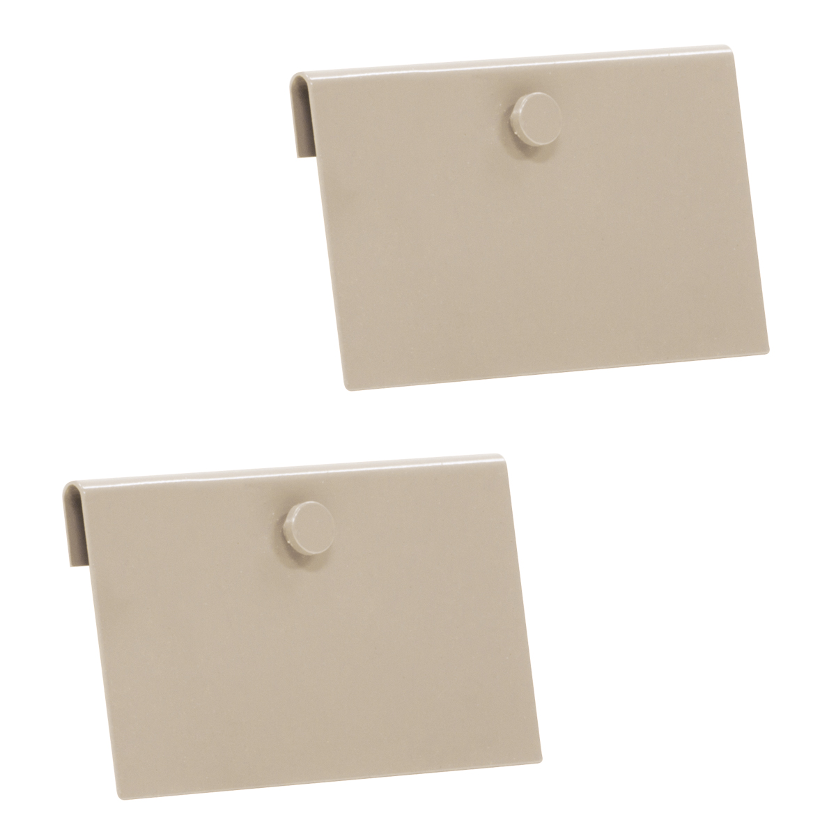 TiltView Hanging Clip, 2 Pack, Beige (TVCLIP).  This item sold in carton quantities of 1.