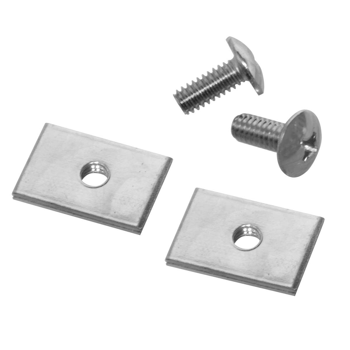 TiltView Hardware Pack, 1 Set, Chrome (TVHDWR).  This item sold in carton quantities of 1.