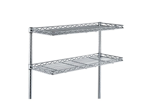 Metro®  1260CHC Chrome HD CANTILEVERED SHF fits 72