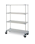 Metro® F536EG - Super Erecta® Stem Caster Cart, solid, 24
