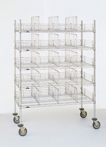 Quick View  sc 1 st  Atlantic Shelving & Metro® 2448GSR - Garment Storage Rack-304 Stainless Steel 24x48 ...