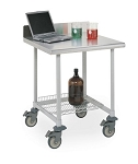 Metro® LT36XUS3 - 36: WK Table,Stationary, Stainless Steel TOP,  3-sided frame
