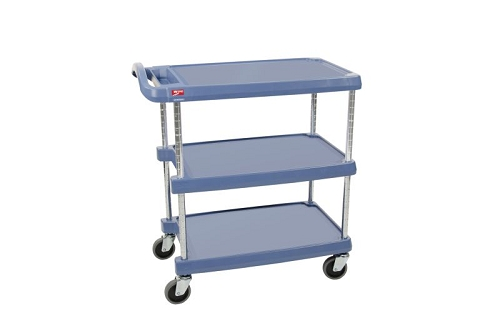 Metro® MY1627-34BU - MYCART 3 SHELF BLUE - MICROBAN 16x27