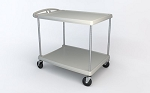 Metro® MY1627-24G - MYCART 2 SHELF GRAY 16x27