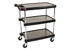 Metro® MY1627-34BL - MYCART 3 SHELF BLACK 16x27
