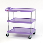 Metro® MY2030-24AP  - Metro® MY2030-24AP - MYCART 2 SHELF Purple Allergen 20x30