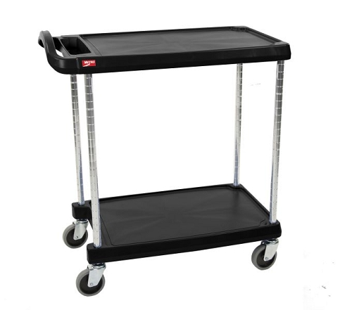 Metro® MY2030-24BL - MYCART 2 SHELF BLACK 20x30